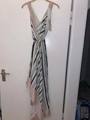 BSB Collection Vestido de cuello Halter multicolor