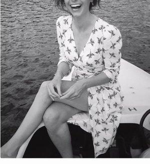 Sommerkleid Fanny Crepe Dress von BA&SH/ Größe S