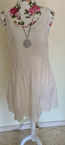 MTWTFSSWEEKDAY Babydoll Dress natural white cotton