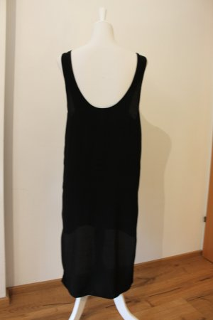 Sparkle & Fade Robe bas asymétrique noir viscose