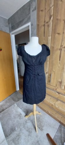 Coulors of the World Shortsleeve Dress black