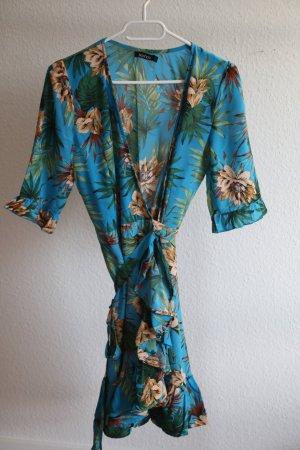 Boohoo Robe d'été multicolore
