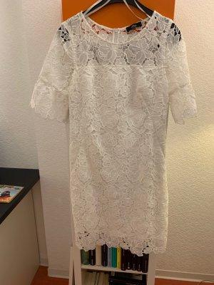 Sommerkleid Frühlingskleid Marke: S. Oliver Black Label weiß gefüttert Baumwolle