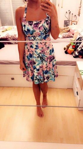 Sommerkleid, geblümt, 38