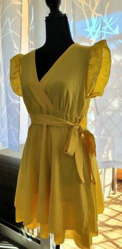 Sommerkleid gelb / NEU mit Etikett