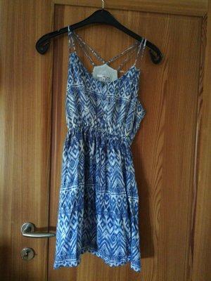 Sommerkleid gemustert