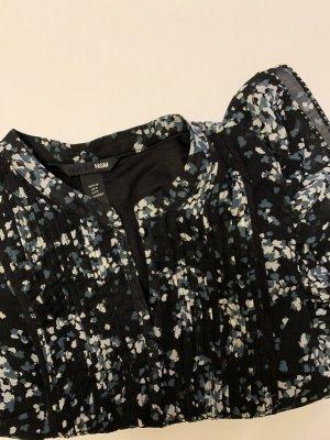 Sommerkleid, gepunktetes Kleid, Schwarz, Minikleid
