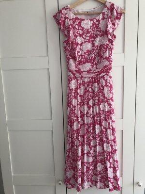 Boden Midi Dress white-pink