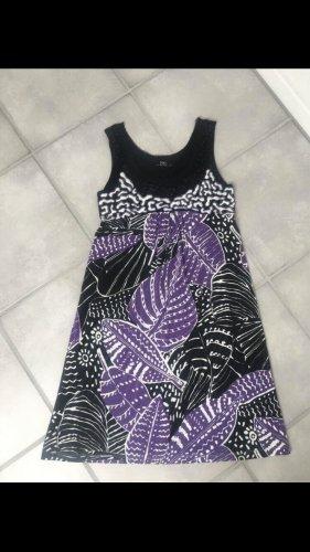 Nice Connection Vestito da spiaggia nero-lilla