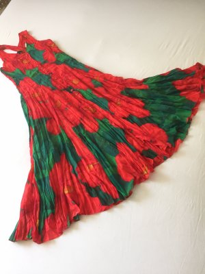 Alba Moda Maxi Dress red-green
