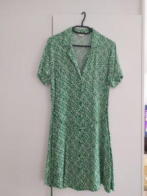 Sommerkleid Gr. L grün Viskose