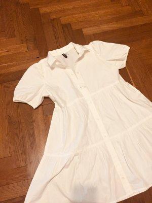 Sommerkleid Gr. L weiss beige creme Zara Lagenkleid Cos H&M