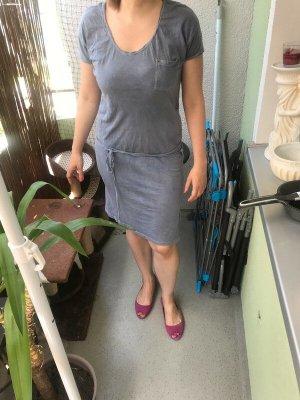 Sommerkleid graublau Größe 36/38