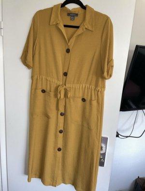 Primark Summer Dress gold orange
