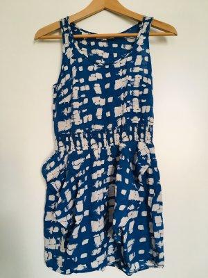Sommerkleid Hellblau Strandkleid in Trendfarbe
