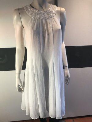 lisa malo Halter Dress white
