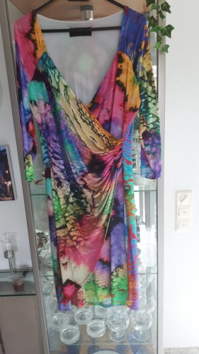 Kopertowa sukienka jasnoniebieski Wiskoza
