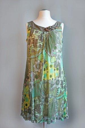 Sommerkleid im Crinkle-Look