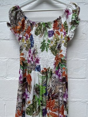 Lascana Hippie Dress multicolored viscose