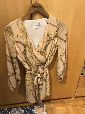 Asos Mini Dress oatmeal-beige