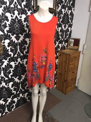 Sommerkleid in Gr.36/S von Desigual in rot, neu!