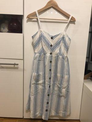 Sommerkleid in Gr.36/S von Only in Weiß / blau.