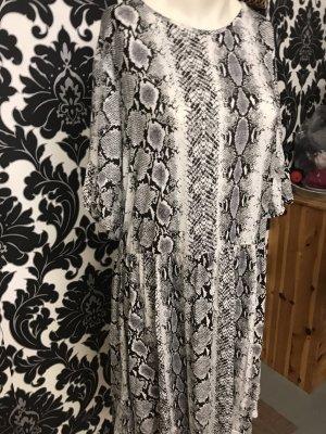 Sommerkleid in Gr.40/42 von Boohoo in schwarz / weiß .
