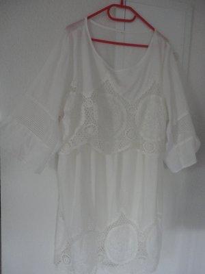 Lace Dress multicolored viscose