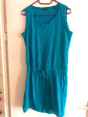Tchibo / TCM Shirt Dress blue cotton