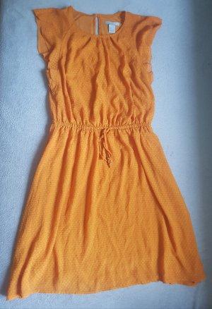 Sommerkleid in orange