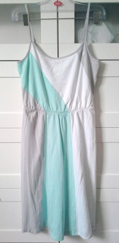 Sommerkleid in Pastell Mint verstellbare Träger Gr. XS