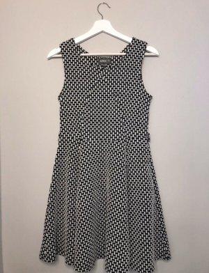 Apricot A-lijn jurk zwart-wit