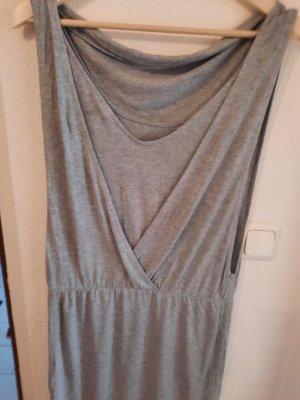 Bench T-shirt jurk lichtgrijs