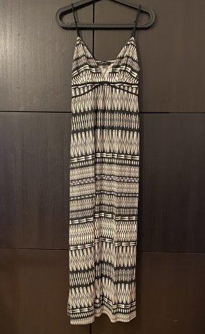 Sommerkleid Jersey schwarz weiß