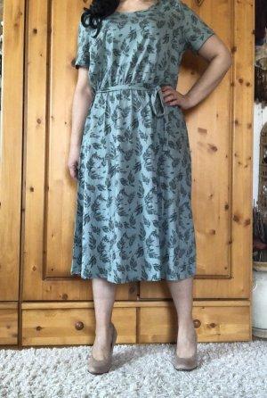 Sommerkleid Jerseykleid Kurzarm Midikleid Gr.L-XL