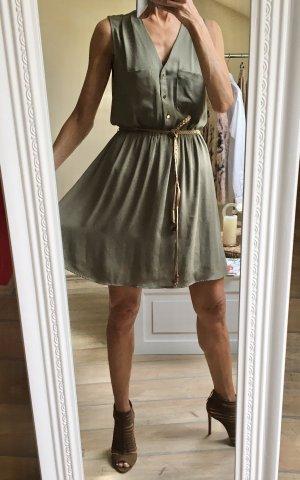 Sommerkleid Khaki Neu!