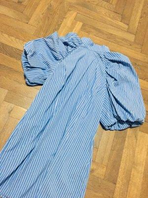 Sommerkleid Kleid French Girl Look blau pastell Gr. L Gr. 38/40 - neu & ungetragen! Versandkostenfrei!!! ZARA COS
