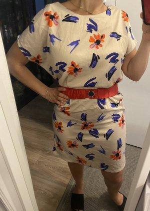 Sommerkleid Kleid geblumte Gr. 34