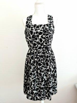 Sommerkleid Kleid in schwarz weiß Gr. M