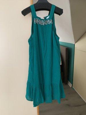 Sommerkleid Kleid Mango Türkis S