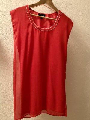 Mango Suit Chiffon jurk veelkleurig