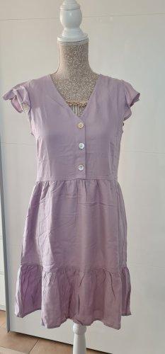 Sommerkleid - kurz - flieder Pastell - Größe 36 S - neu