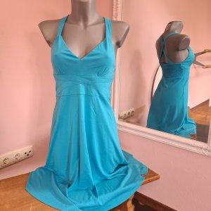 Sommerkleid leicht von edc by Esprit XS 32 34 blau neuwertig