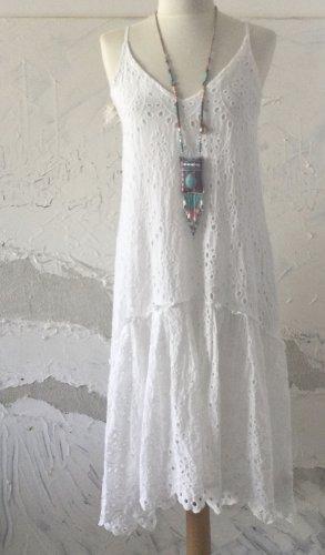 ❤️ Sommerkleid Lochstickerei -Total angesagt