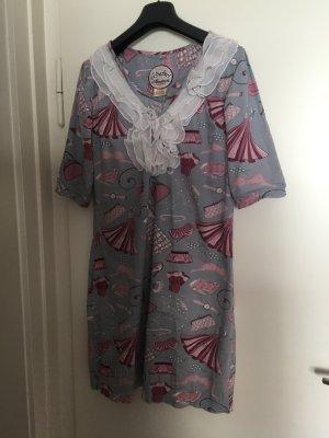 Almatrichi Sukienka z krótkim rękawem Wielokolorowy