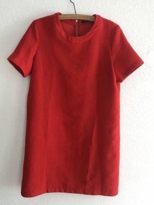 Sommerkleid Mango rot M