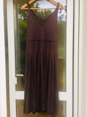 clinique Midi Dress brown-dark brown