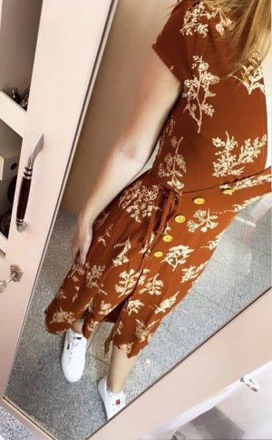 Abendkleid Wikkeljurk veelkleurig