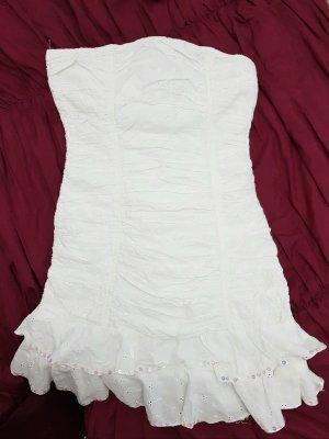Sommerkleid Minikleid Schulterfrei