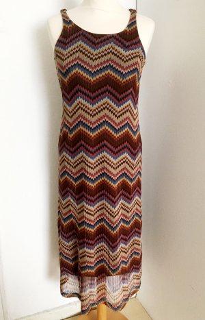 Sommerkleid mit abstraktem Muster Gr. S